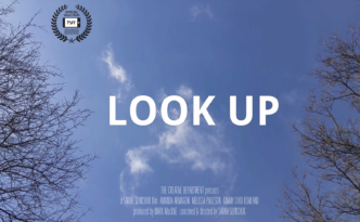Look Up Poster
